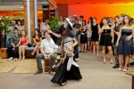 Bruxa Trina na festa de final de ano da SOFTPLAN
