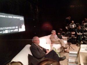 Colóquio com a presença de Marvim Carlson e Patrice Pavis