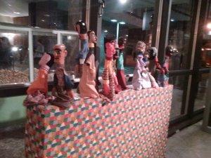 Exposição de Bonecos no Teatro Guaíra - Curitiba