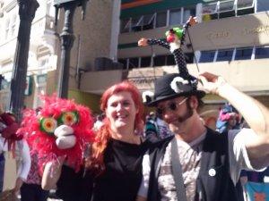 Desfile FEstival Espetacular de Teatro de Bonecos de Curitiba