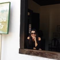Pose na casa de Monteiro Lobato!