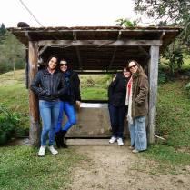 Vanessa Sandre, Fabiana Lazzari, Karine Jouli e Fabiana Franzosi