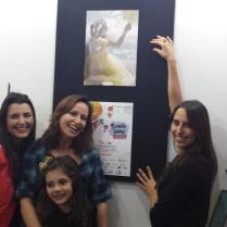 Fabiana Lazzari, Fabiana Franzosi, Bárbara Dutra e Vanessa Sandre