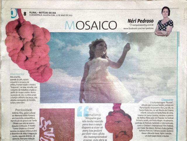Coluna Mosaico - de Néri Pedroso - Jornal Notícias do Dia.