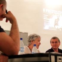 I Seminário sobre Teatro de Sombras - Palestra Christophe Bastien-Thiry (Theatro Des Ombres) - Mediador Prof. Dr. Mário Piragibe - Foto Roger Lisboa