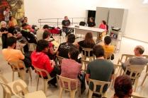 I Seminário sobre Teatro de Sombras - Palestra Ronaldo Robles e Silvia Godoy (Cia Quase Cinema)- Mediador Prof. Dr. Mário Piragibe - Foto Roger Lisboa