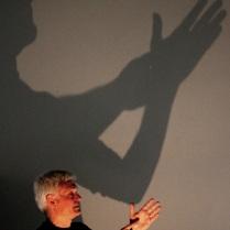 I Seminário sobre Teatro de Sombras - Palestra Fabrizio Montecchi - Teatro Gioco Vita - Foto Roger Lisboa