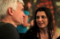 I Seminário sobre Teatro de Sombras - Fabrizio e Fabiana - Foto Thiago Bresani
