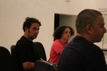 I Seminário sobre Teatro de Sombras - Palestra Ronaldo Robles e Silvia Godoy (Cia Quase Cinema)- Mediador Prof. Dr. Mário Piragibe - Foto Thiago Bresani