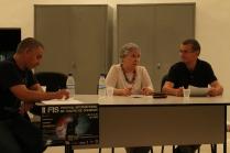 I Seminário sobre Teatro de Sombras - Palestra Christophe Bastien-Thiry (Theatro Des Ombres) - Mediador Prof. Dr. Mário Piragibe - Foto Thiago Bresani