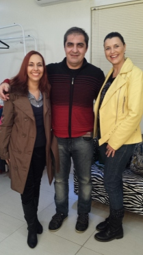 Giovana, Ademir e eu