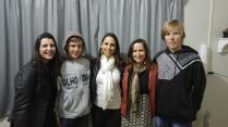 Eu, Ricardo Hasse, Vanessa, Fabiana Franzosi e Gustavo Hasse