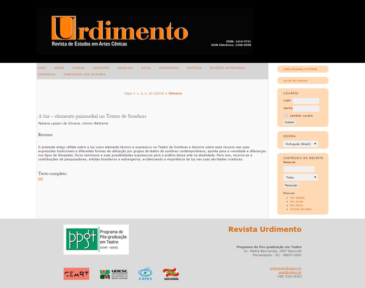 FireShot Capture - A luz – elemento primordial no Teatro d_ - http___www.revistas.udesc.br_index.p